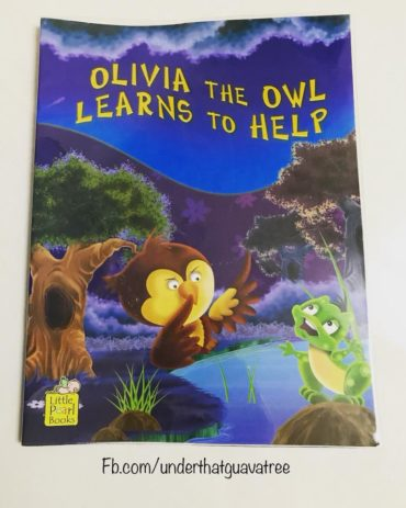 Olivia the owl learns to help